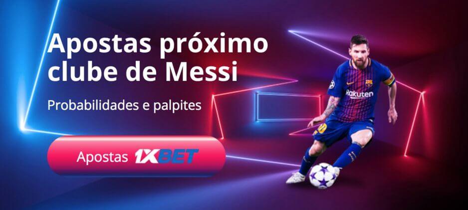 Transferência de Lionel Messi Palpite para Apostas