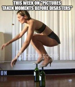 Before disasters memes