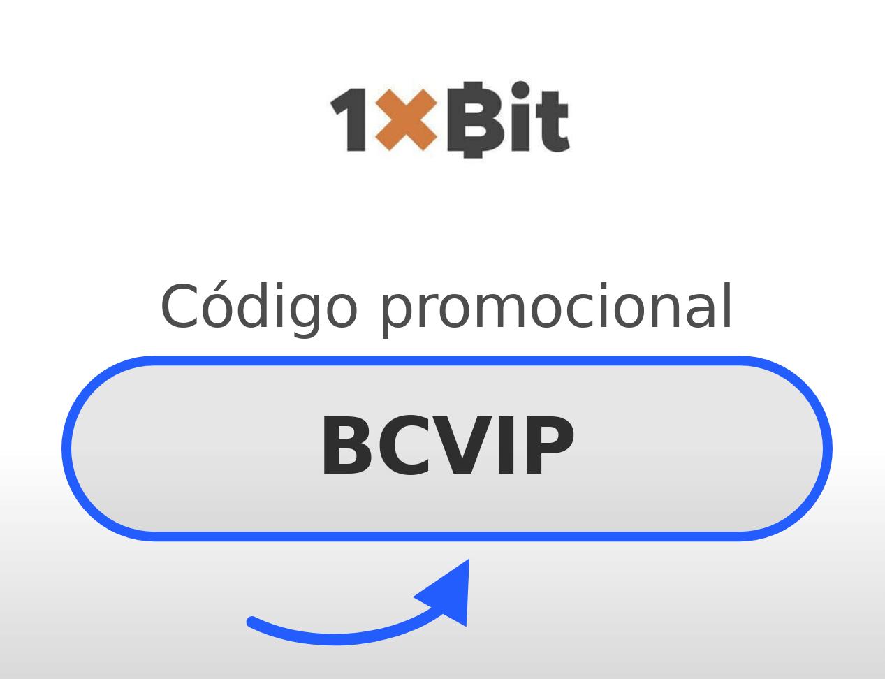 1XBIT Código Promocional