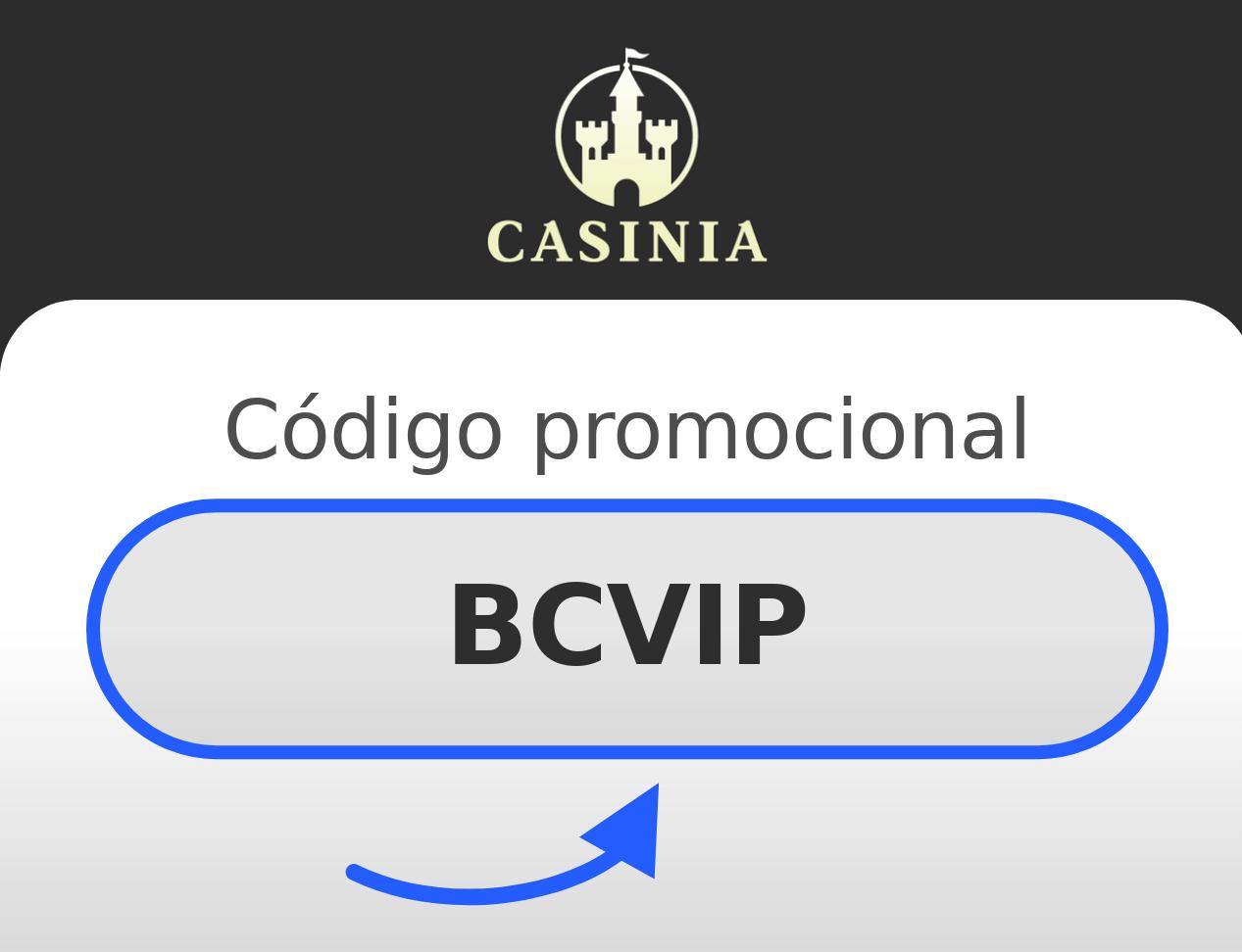 Código Promocional Casinia