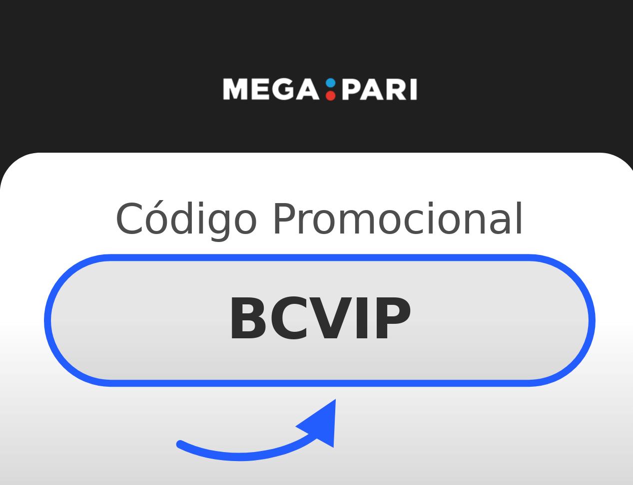 Código Promocional Megapari 2021