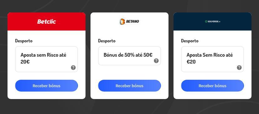 Casas de apostas autorizadas em Portugal
