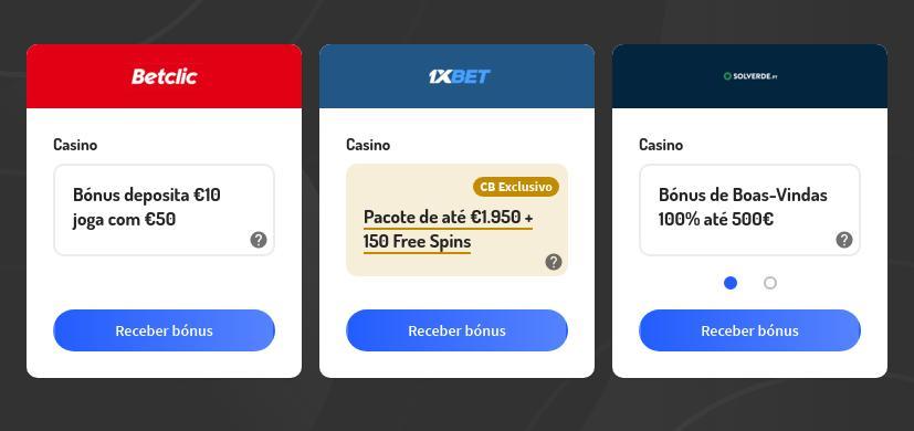 Os Melhores Bônus de Boas-Vindas para Casino